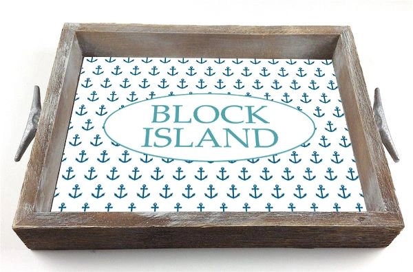 Anchor Background - Serving Tray w/ Interchangeable Insert