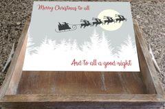 Insert Only - Santa's Sleigh