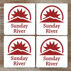 Sunday River Coaster Set