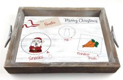 Santa's Snacks - Serving Tray w/ Interchangeable Insert