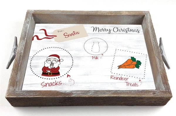 Santa's Snacks - Interchangeable Insert Serving Tray