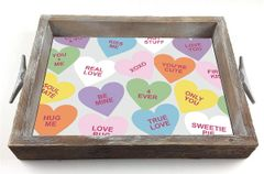 Hearts - Serving Tray w/ Interchangeable Insert