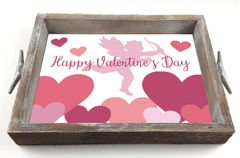Valentine Cupid - Serving Tray w/ Interchangeable Insert