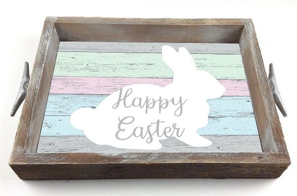 Easter - Serving Tray w/ Interchangeable Insert