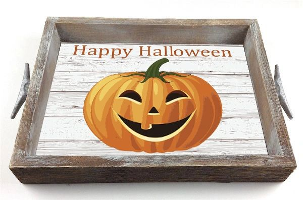 Halloween - Serving Tray w/ Interchangeable Insert