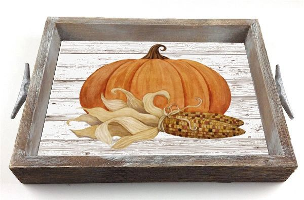 Fall - Serving Tray w/ Interchangeable Insert