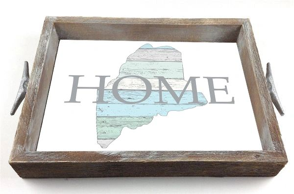 Pastel Customizable Home - Serving Tray w/ Interchangeable Insert