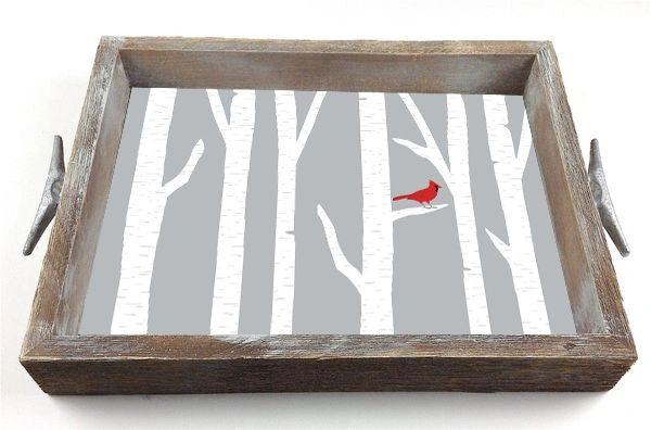 Cardinal - Serving Tray w/ Interchangeable Insert