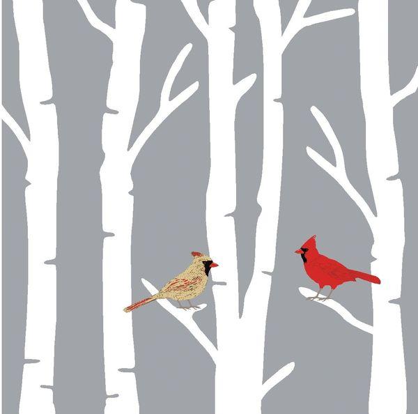 Cardinal Mates - 4x4 Block