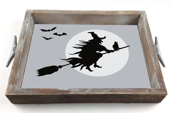 Halloween Witch - Interchangeable Insert Serving Tray