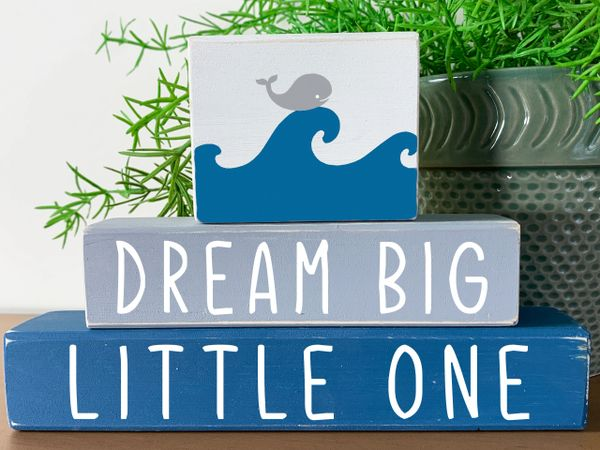 Dream Big Little One Stacker (more colors)