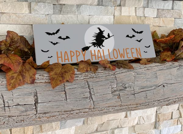 A Witchy Halloween Sign