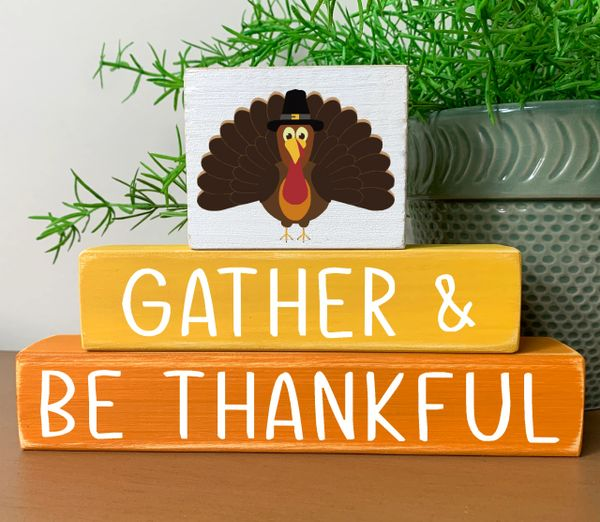 Thanksgiving Gather Stacker