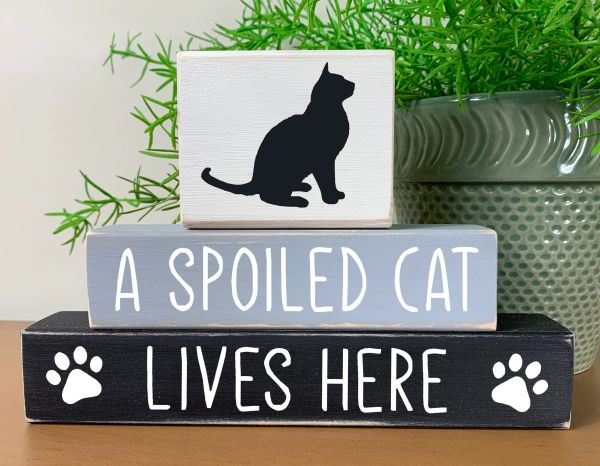 Spoiled Cat Stacker