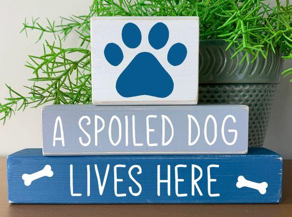 Spoiled Dog Stacker
