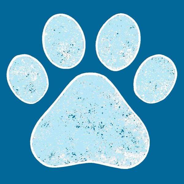 Paw Print - Wood Block (4 colors)