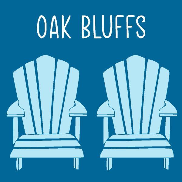 Adirondack Chair - Wood Block (4 colors)