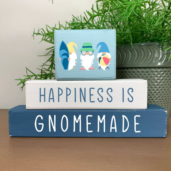 Happiness is Gnomemade Stacker