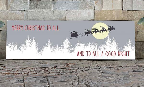 Sign - Santa's Sleigh