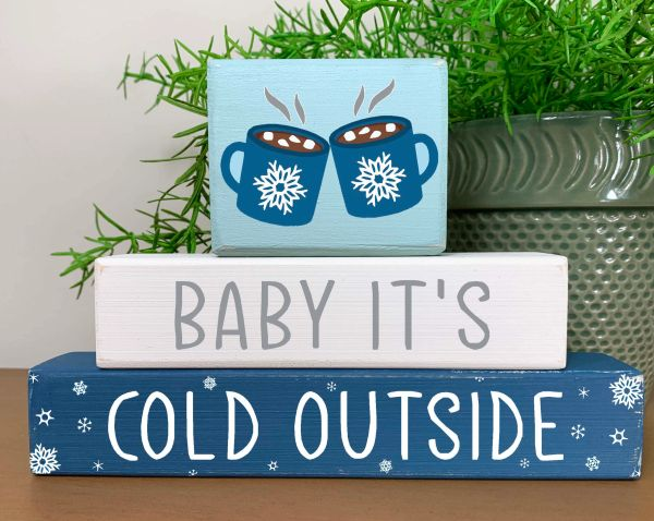 Baby It's Cold Outside Stacker