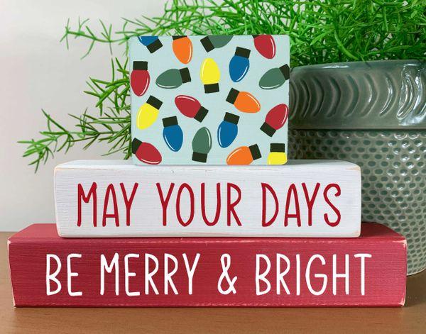 Merry & Bright Stacker