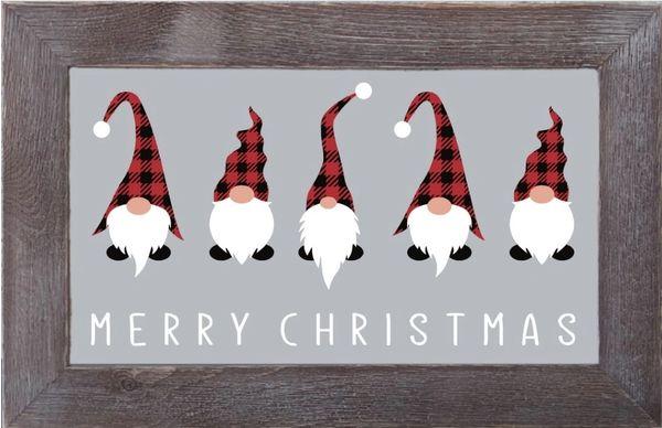Gnomes Merry Christmas