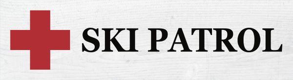 Ski Sign - Ski Patrol