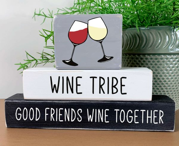 Wine Tribe Stacker (2 choices)