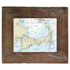 Customizable Framed Nautical Charts