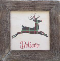 Deer - Framed