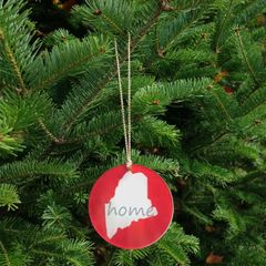 Home Ornament - Red