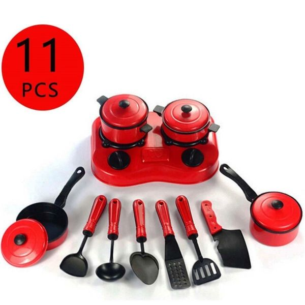 Kitchen Utensil Cooking Toy Cookware Set