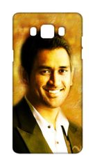 Dhoni Printed Back Case Cover for Samsung J7