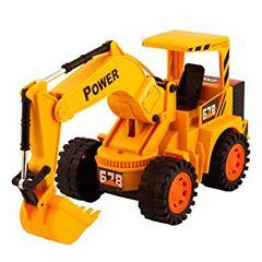 Cheetah Construction Truck with Flash Excavator