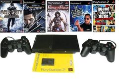 Sony PlayStation 2 Console(PS2 150 GB) With 50 Games