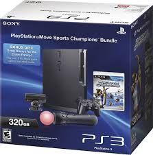 Sony PlayStation 3 Console Slim 320 GB (Black)