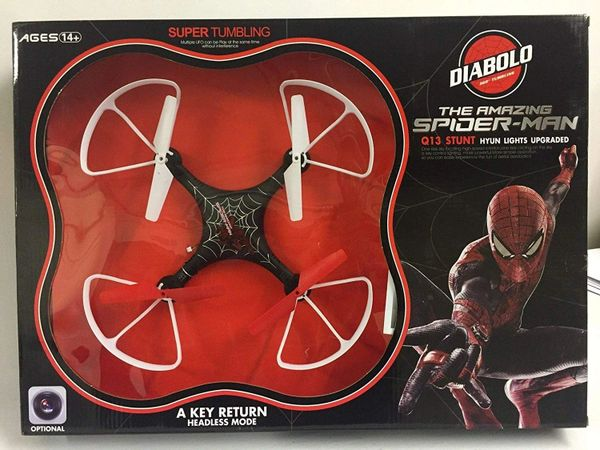 The Amazing Spider Man Q series 2.4GHz RC Quad-copter Drone