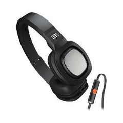 JBL Tempo On-Ear Headphone With Mic – J55iB (Black)