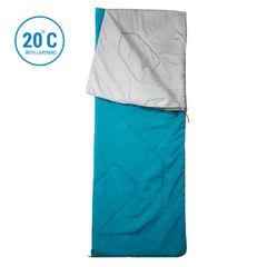 QUECHUA Sleeping Bag Arpenaz 20°C - Blue