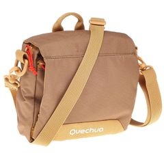 QUECHUA Travel Multi-Compartment Pouch - Brown