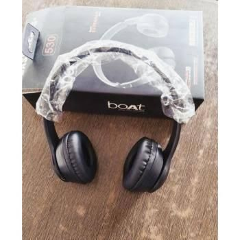 Boat Rockerz 530 Bluetooth Headphone with Mic (Carbon Black)