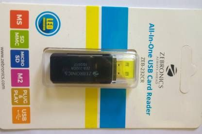 ZEBRONICS All-In-One USB Card Reader
