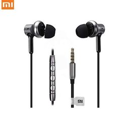Mi Wired Headphones with Mic Ultra-Deep Bass (Black)