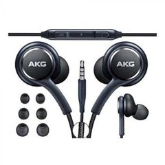 Samsung Earphones With Mic Tuned by AKG (Black)
