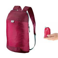 QUECHUA Ultra-Compact 10-Litre Bag (Pink)