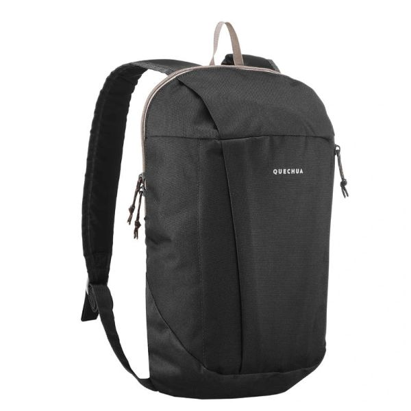 QUECHUA HIKING Backpack 10L NH100 (Black)