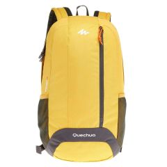 QUECHUA Laptop Bag 20 Litre (Yellow)