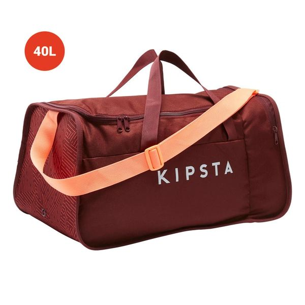 KIPSTA GYM Duffle Bag with Ki pocket 40 Liter (Red)