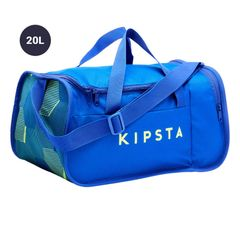 KIPSTA GYM Football Duffle Bag with Ki pocket 20 Litre (Blue)