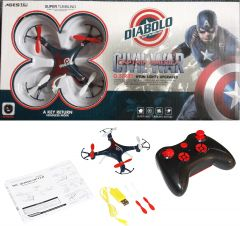 Diabolo Captain America Civil War Q Series Hyun Lights Upgraded Mini Drone Without Camera